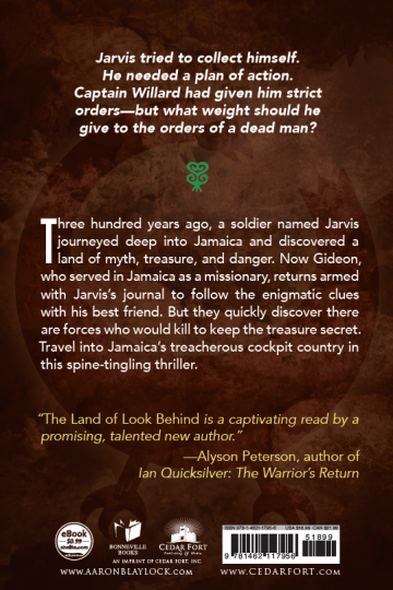 Land of Look Behind back cover