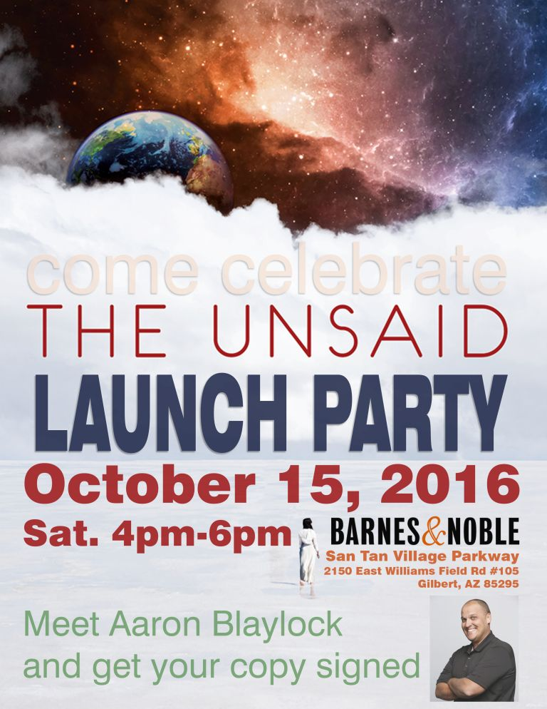 Launch Party The Unsaid